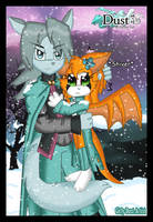 .:DxF In The Snow:. by Girly-Dust-Artist