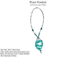 .:Water Pendant:. by Girly-Dust-Artist