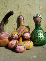 Native Gourd people