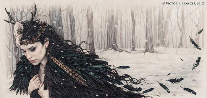 Yule Sorcerer by Victoria Frances