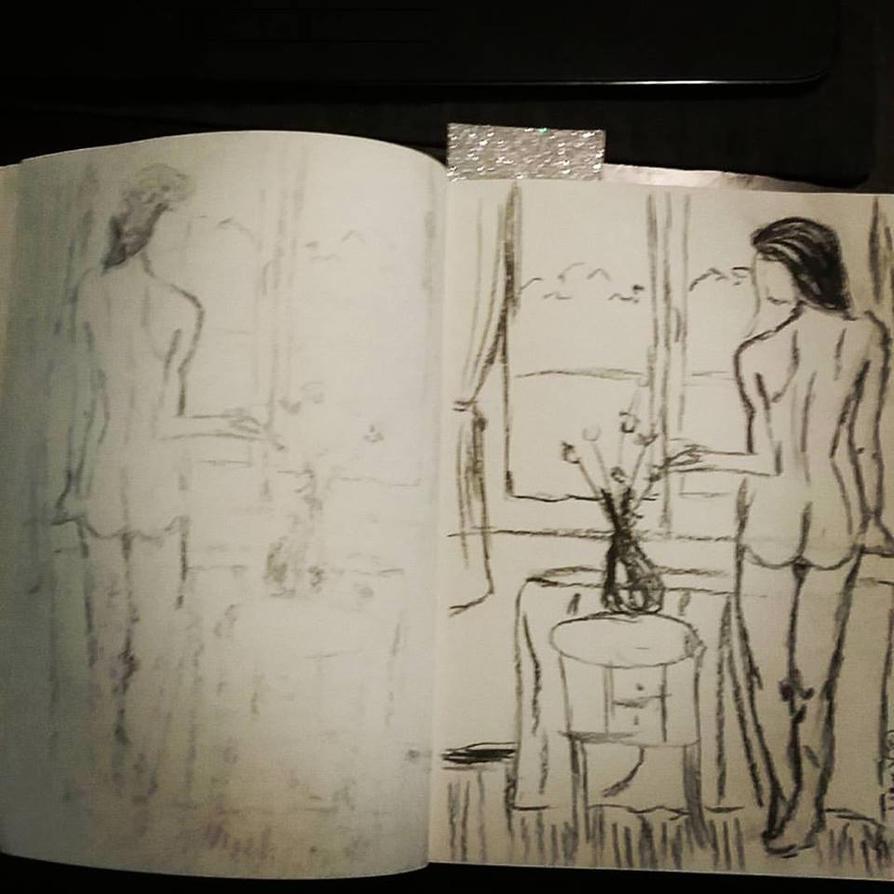 Figure sketch Jan13 by megalledAnn