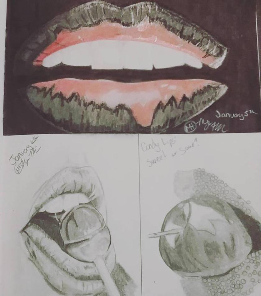Lips by megalledAnn