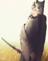 Slight rework of this samurai/assassin by gibs-arts