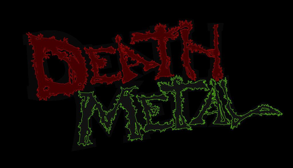 Death Metal logo by MrCoolJoeCool