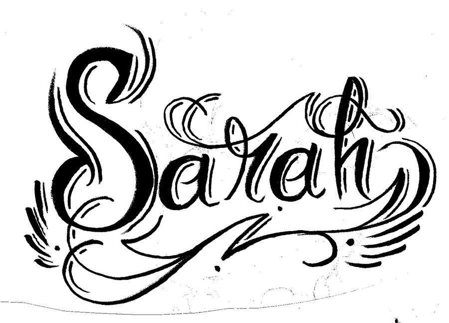 Sarah name art play the name game sarah by