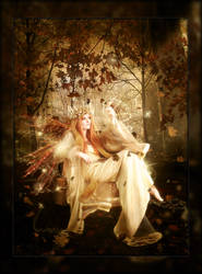 Faerie Goddess of Autumn by brandrificus