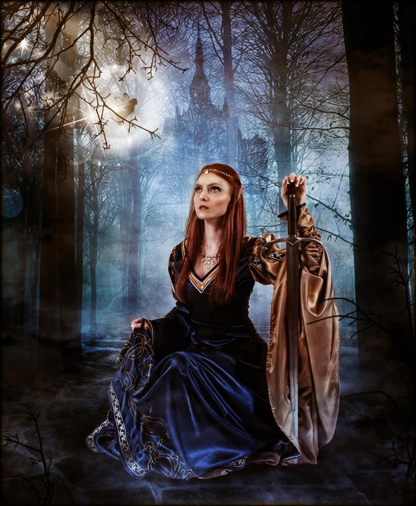 Elvish People Elven Fantasy by brand...