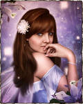 Forest Fairy Portrait