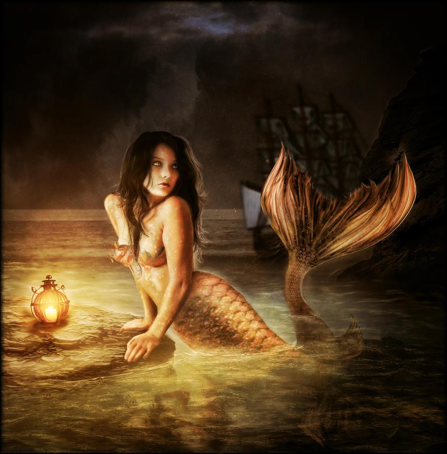 Mermaid *Goodbye* by brandrificus