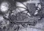 Dragon Walls by Nashcrom