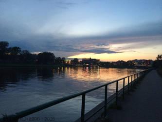 Krakow Setting Sun by TwistDragon