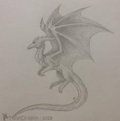 Graphite Dragon by TwistDragon