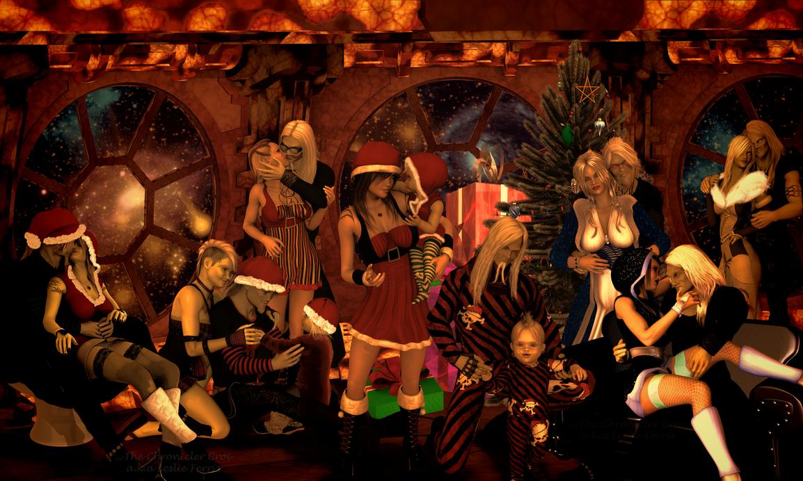 Merry Wraithmas 2014 by The-Chronicler-Croi