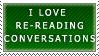 Conversation Stamp by Outcast010