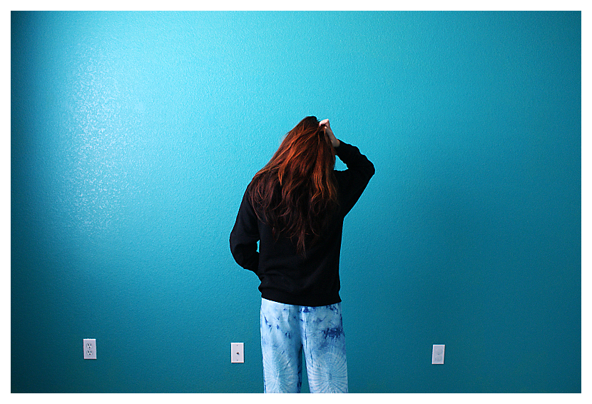 turquoise walls by likewonderland