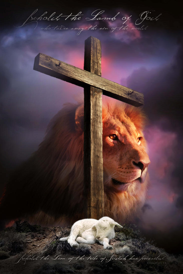 lamb of god christian religious posters by davidsorensen on