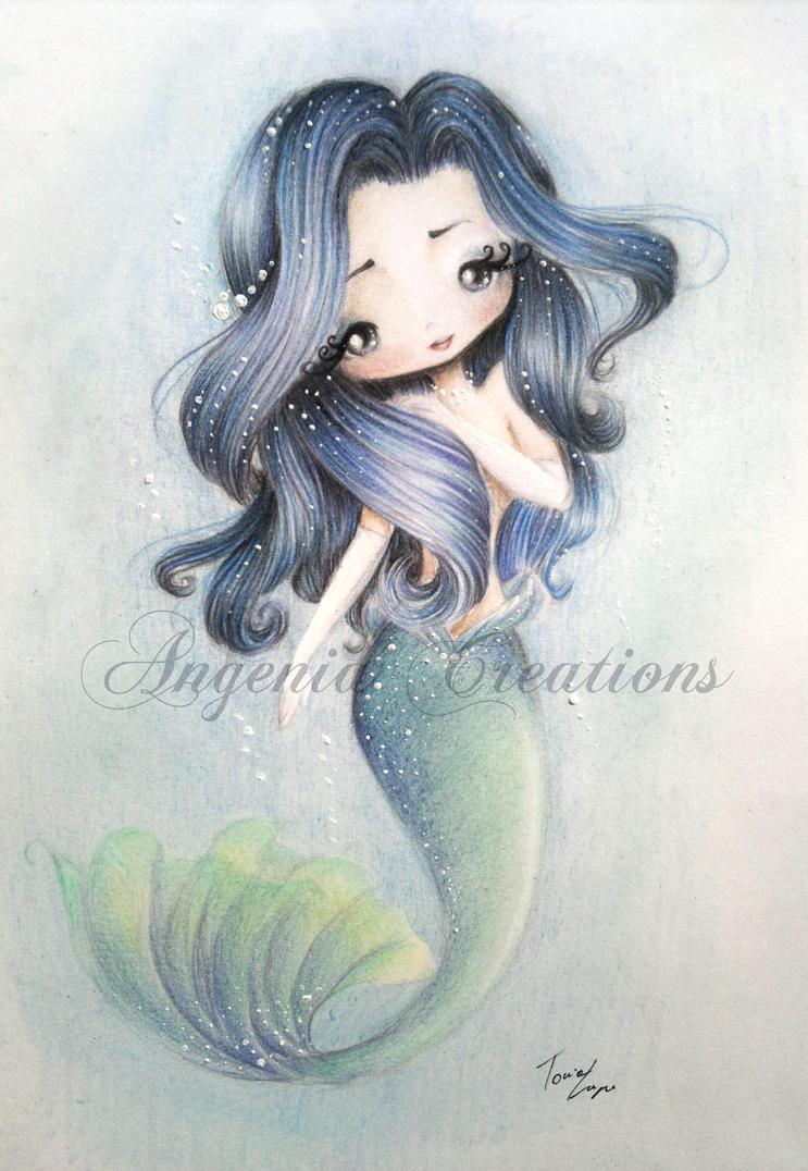 Lady mermaid by AngeniaC