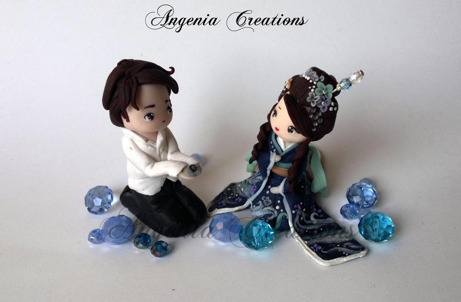 maiko statuette by AngeniaC