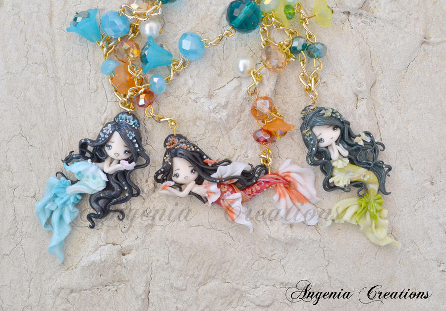 maiko mermaids by AngeniaC