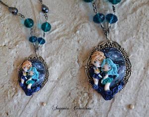 cameo sailor Neptune and  Uranus