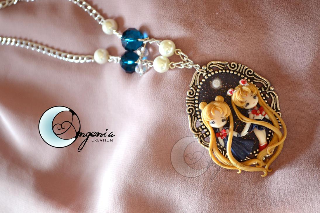 Bunny and sailor moon 2 by AngeniaC