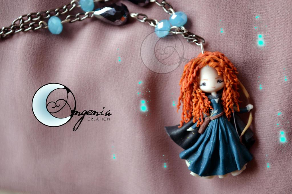 Merida Brave The Ribelle by AngeniaC