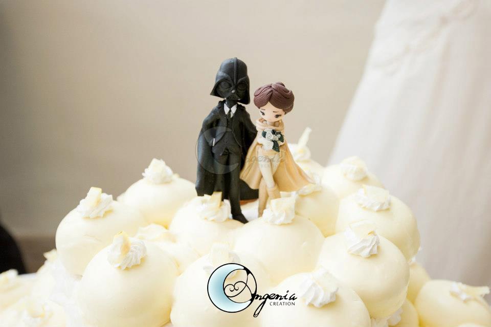 Tanja Cake Topper Artist : cake topper star wars by AngeniaC on DeviantArt