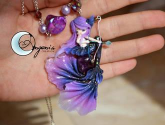 Sagittarius mermaid by AngeniaC
