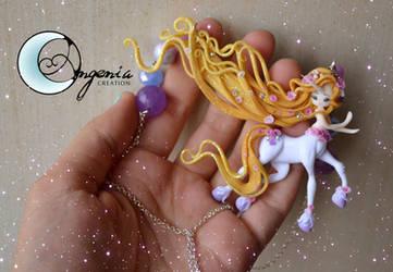 Rapunzel unicorn by AngeniaC