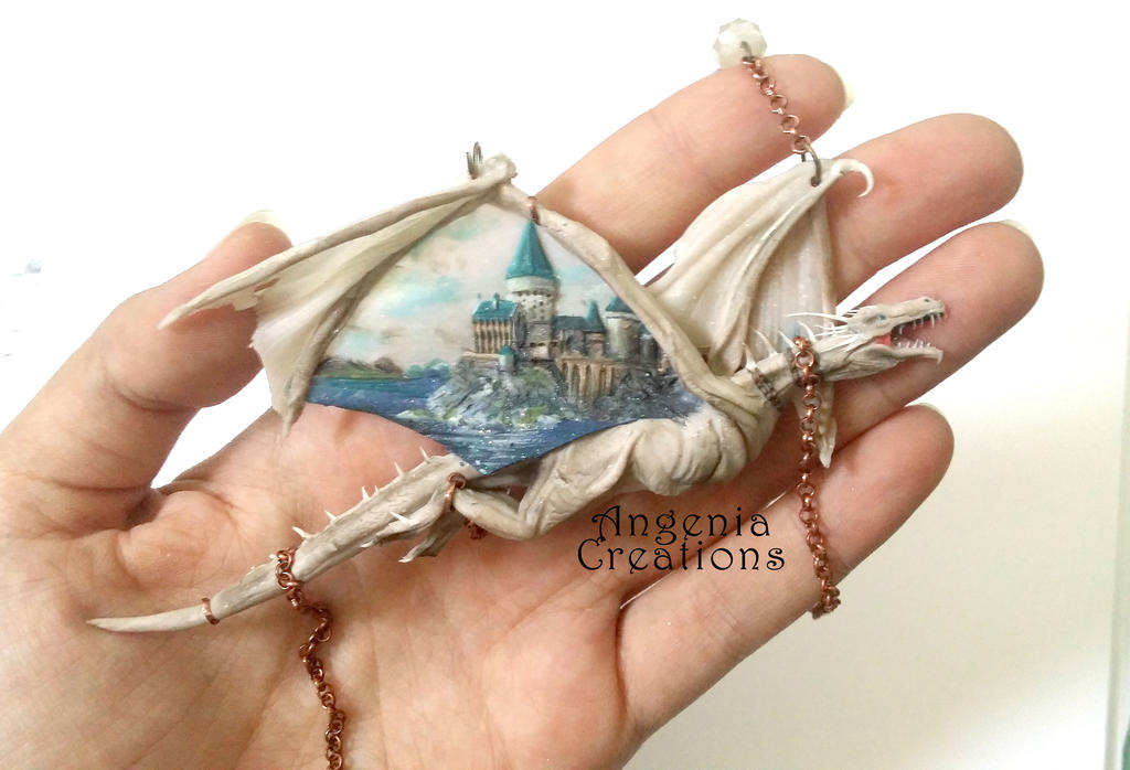 harry potter Gringotts dragon by angenia creations