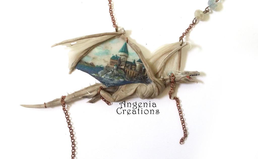 harry potter Gringotts dragon by angenia creations