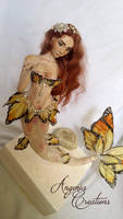 butterfly mermaid Clary ooak by angenia creations