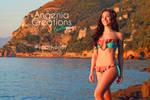 butterfly Bikini by Angenia Creations