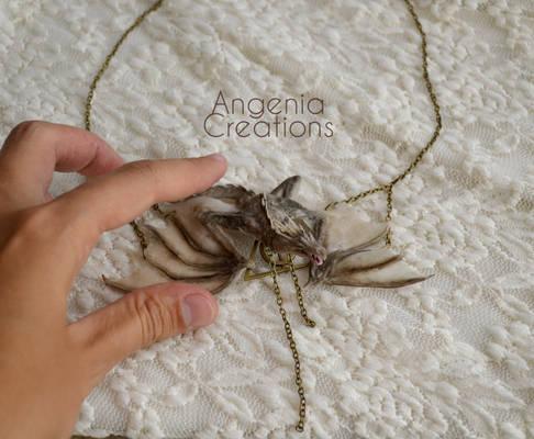 Gringott's dragon necklace
