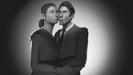 Noir Couple by Entertain3r