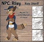 .Riley. [NPC Contest Entry]