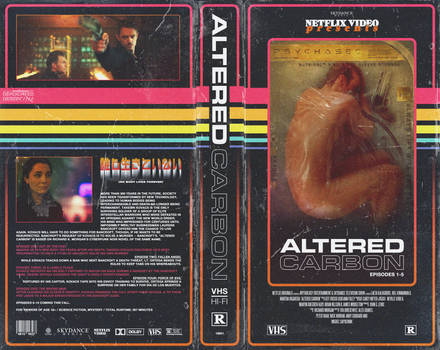 DEADicated Design - Altered Carbon VHS Cover