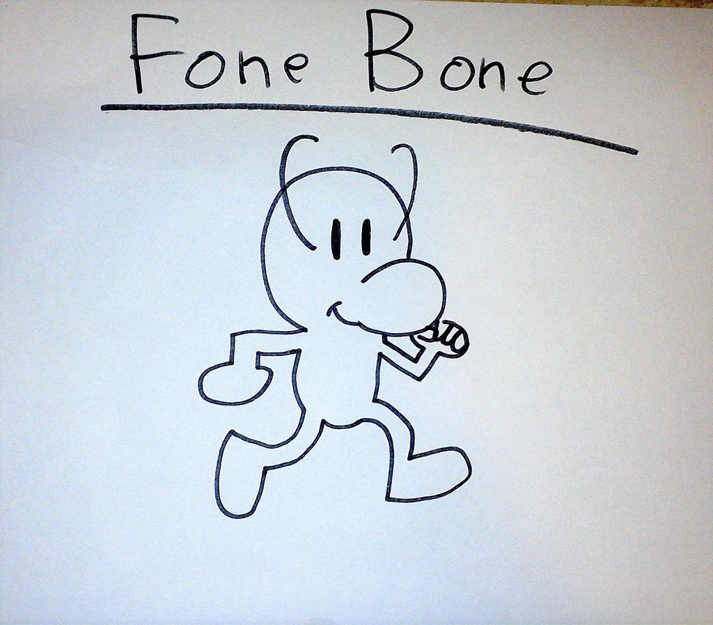 Fone Bone by SuperSmash6453