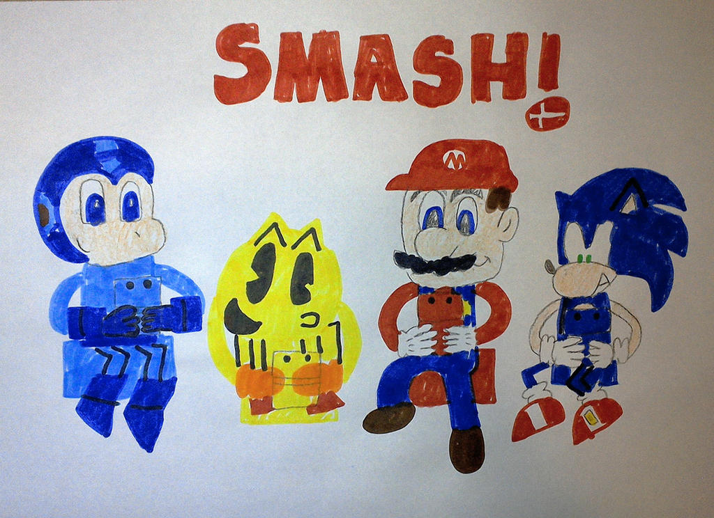 Smash Bros. for 3DS Playtime by SuperSmash6453