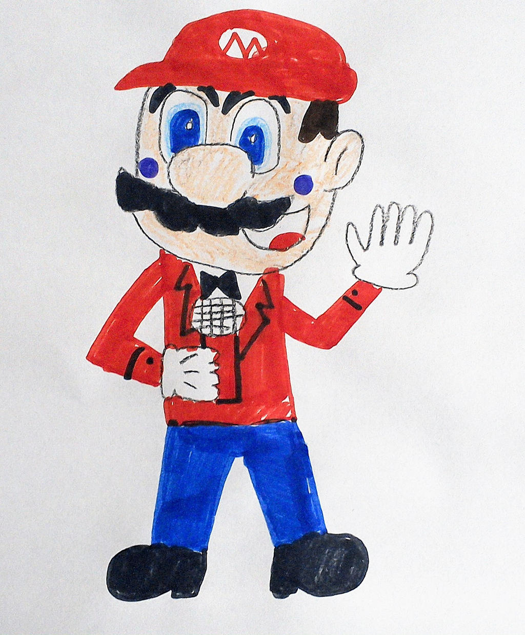 Funtime Mario by SuperSmash6453