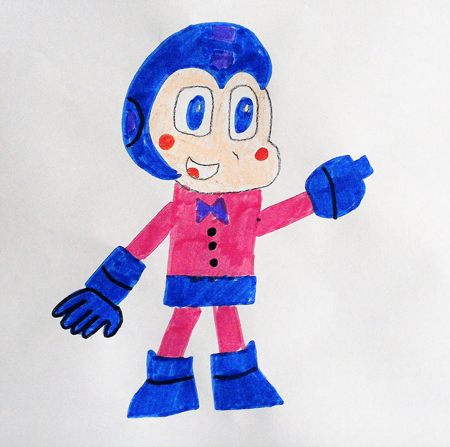 Funtime Mega Man by SuperSmash6453