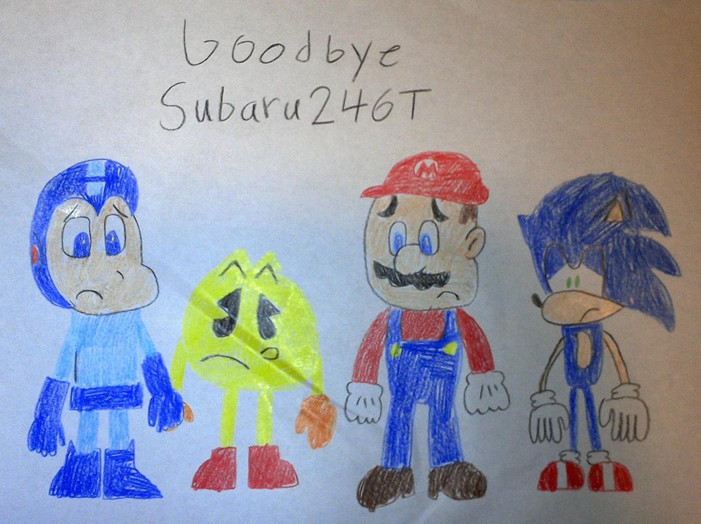 Goodbye Subaru246T by SuperSmash6453
