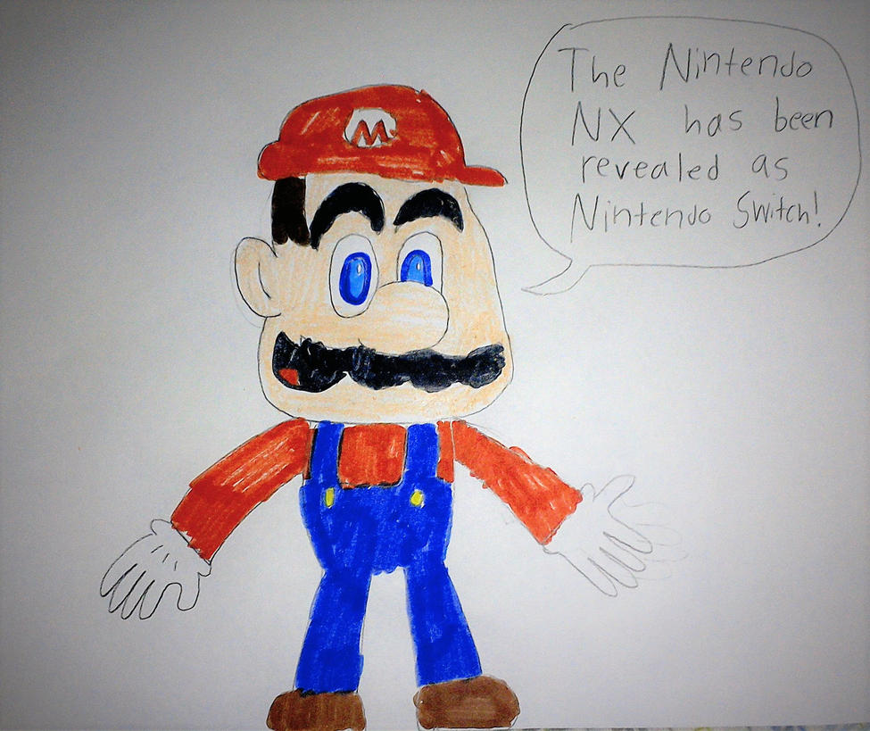 Mario announces NX as Nintendo Switch by SuperSmash6453