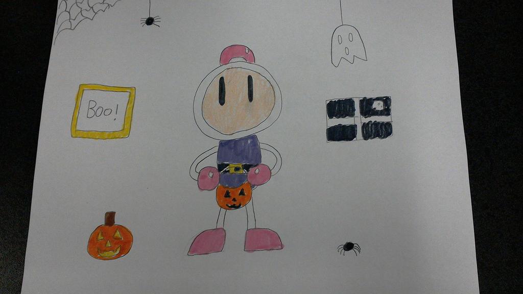Bomberman Halloween by SuperSmash6453