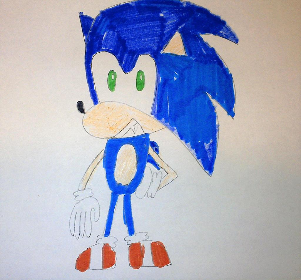 Dreamcast Sonic by SuperSmash6453