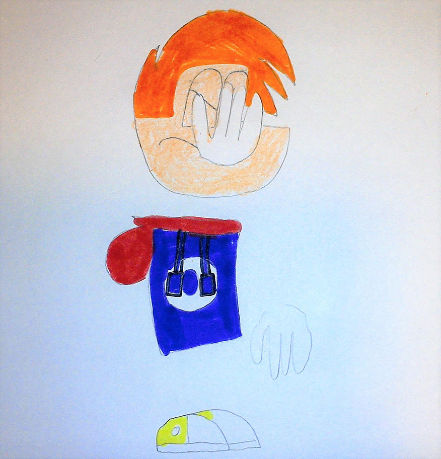 Rayman Facepalm by SuperSmash6453
