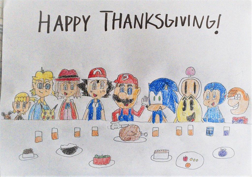 Thanksgiving 2016 by SuperSmash6453