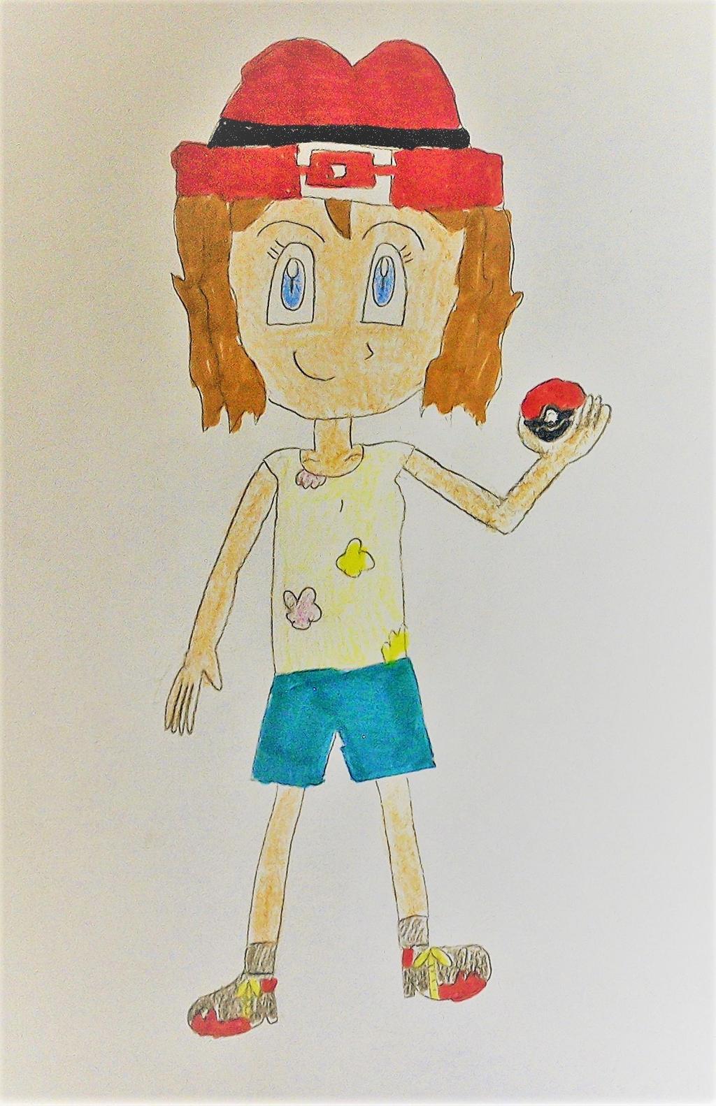 Alolan Serena (My design) by SuperSmash6453