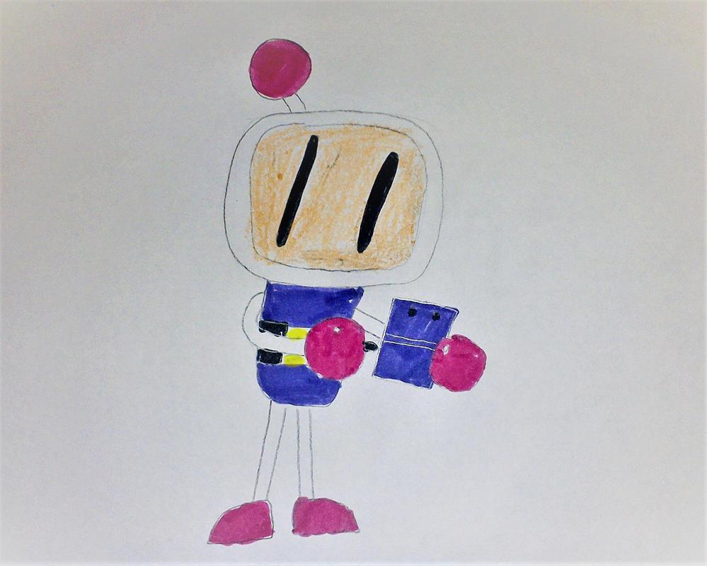 Bomberman plays Super Mario Maker 3DS by SuperSmash6453