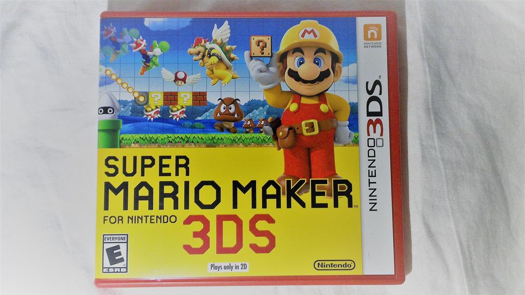 I got Super Mario Maker for 3DS! by SuperSmash6453